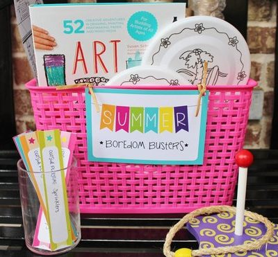 Summer Boredom Busters & FREE Printables