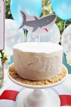 shark cake ideas shark cake topper