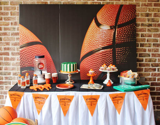 Basketball Birthday Party ideas