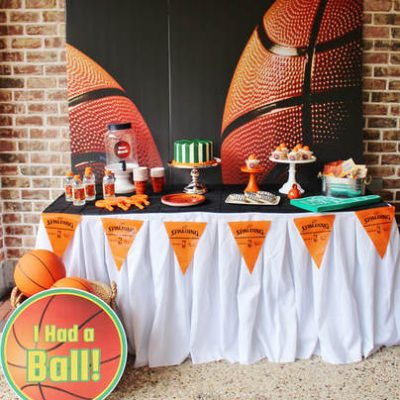 Throw the Perfect Basketball Birthday or March Madness Party with these Tips!