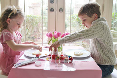 Valentine's Day Cookie Decorating Party - Crowning Details