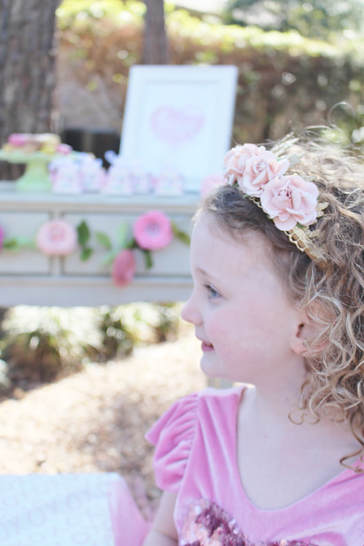 Valentine's Day Tea Party & FREE Love Printable - Crowning
