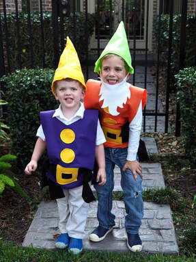 seven dwarves costumes family halloween costumes