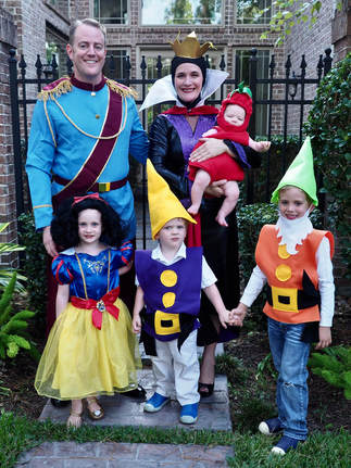snow white family costumes