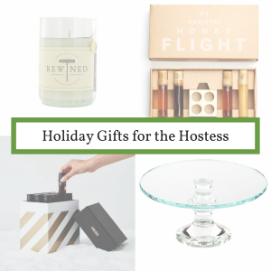 gift guide for the hostess gift ideas