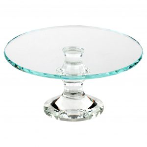crystal cake stand gifts for the hostess