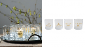 specialty glassware for holiday gifts for the hostess