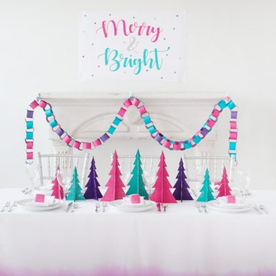 3 Easy DIY's for a Merry and Bright Christmas Tablescape