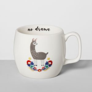llama mug gifts for the hostess