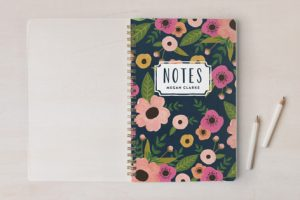 personalized notebook gifts for the hostess