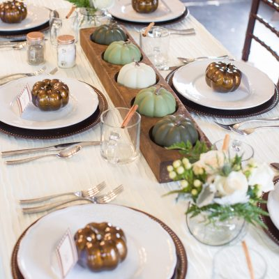How to Set a Thanksgiving Table on a Budget