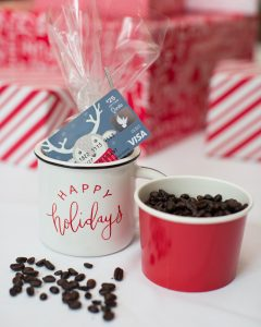 coffee cup holiday gift idea