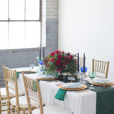 How to Add DIY Watercolor Details to a Tablescape