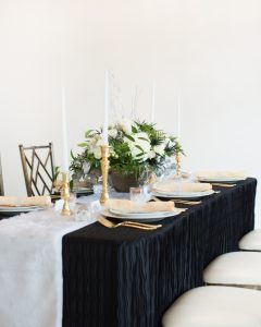 winter wonderland tablescape ideas
