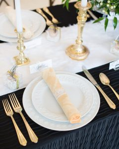 winter wonderland tablescape formal holiday table