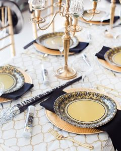 art deco party supplies NYE party ideas