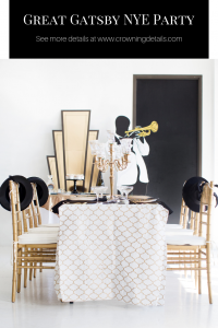 art deco NYE party ideas