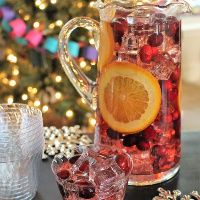 How to Make Refreshing Jingle Juice Holiday Punch
