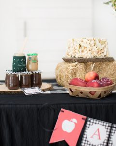apple butter party favor