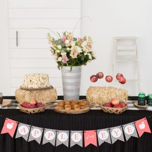 "A Farmhouse ""Apple of My Eye"" Baby Shower"