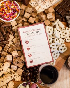wine and chocolate tasting ideas