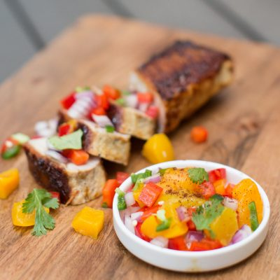 Make Vibrant Peach Salsa with 6 Fresh Ingredients