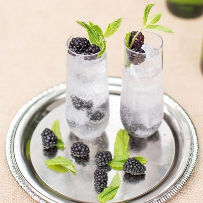 How to Make a Muddled Blackberry Gin and Tonic