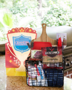 grilling fathers day gift basket