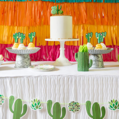 5 Things to Include for a Colorful Cactus Theme Party