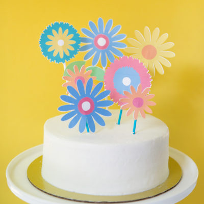 3 Cheerful Ideas for Printable Cake Toppers