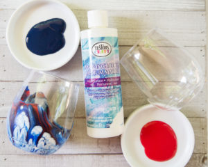 supplies needed for DIY marbling