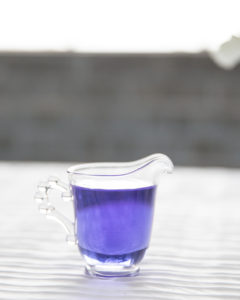 butterfly pea flower infused gin