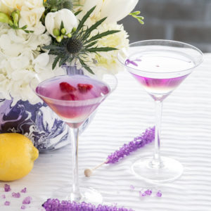 galaxy inspired cocktail