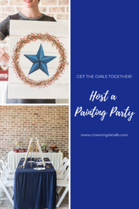 host a painting party