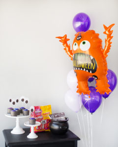 monster theme halloween party for kids