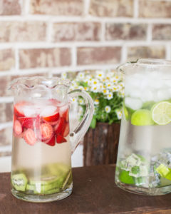 infused water bar ideas