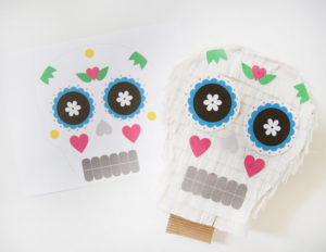 DIY day of the dead pinata