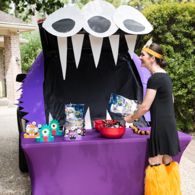 How to Make a Trunk or Treat Monster