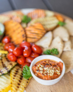romesco dipping sauce for grilled vegetables