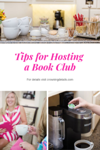 tips for hosting book club