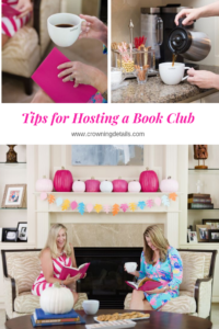 how to host book club