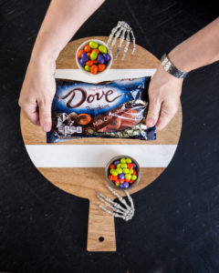 dove pumpkin halloween chocolates