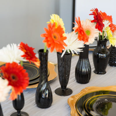 A Simple Spray Painted Vase Transformation for Fall