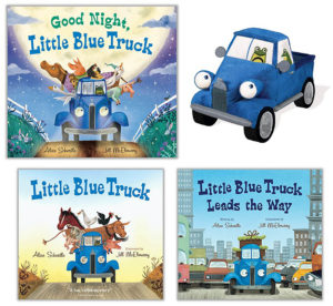 little blue truck giveaway