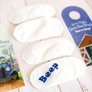 personalized eye masks
