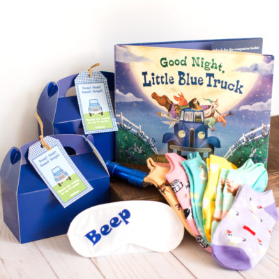 How to Create a Little Blue Truck Pajama Party Kit