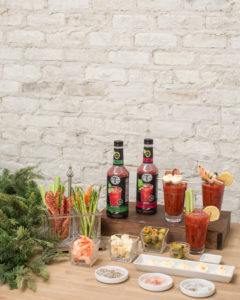 how to set up a bloody mary bar