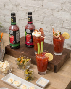 bloody mary garnish ideas