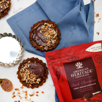 How to Make Decadent Chocolate Hazelnut Tarts