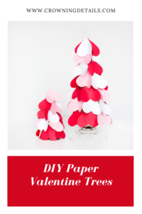 DIY valentine trees